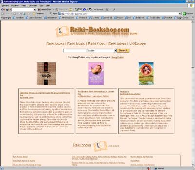 reiki book shop